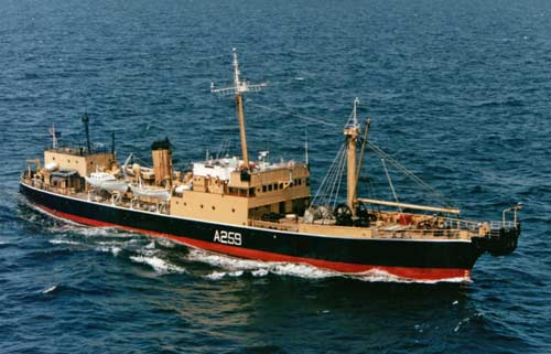 RFA St. Margarets, cable layer and experimental trials ship