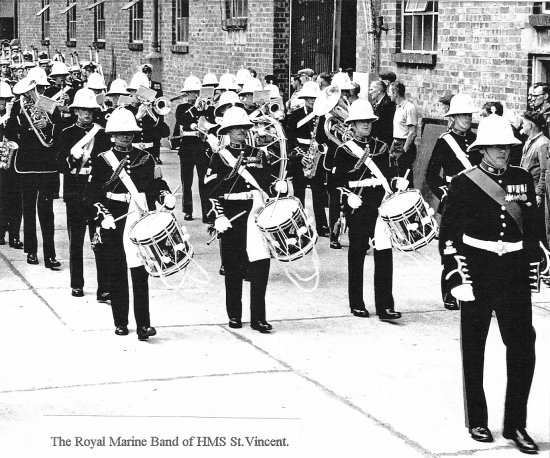 HMS St. Vincent Royal Marine Band
